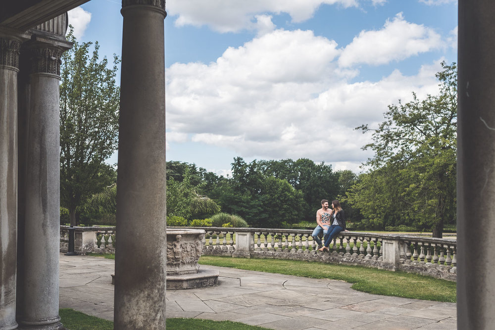 Roehampton University Engagement Shoot Pre Wedding Photos Kit Myers 006.jpg