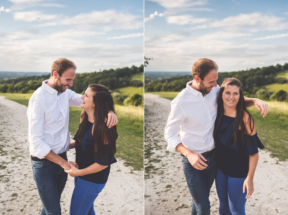 Dorking Engagement Shoot WEdding Kit Myers Photography Boxhill008.jpg