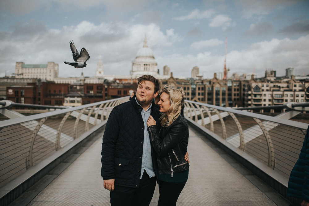 London St Pauls Cathedral Engagement Shoot0003.jpg