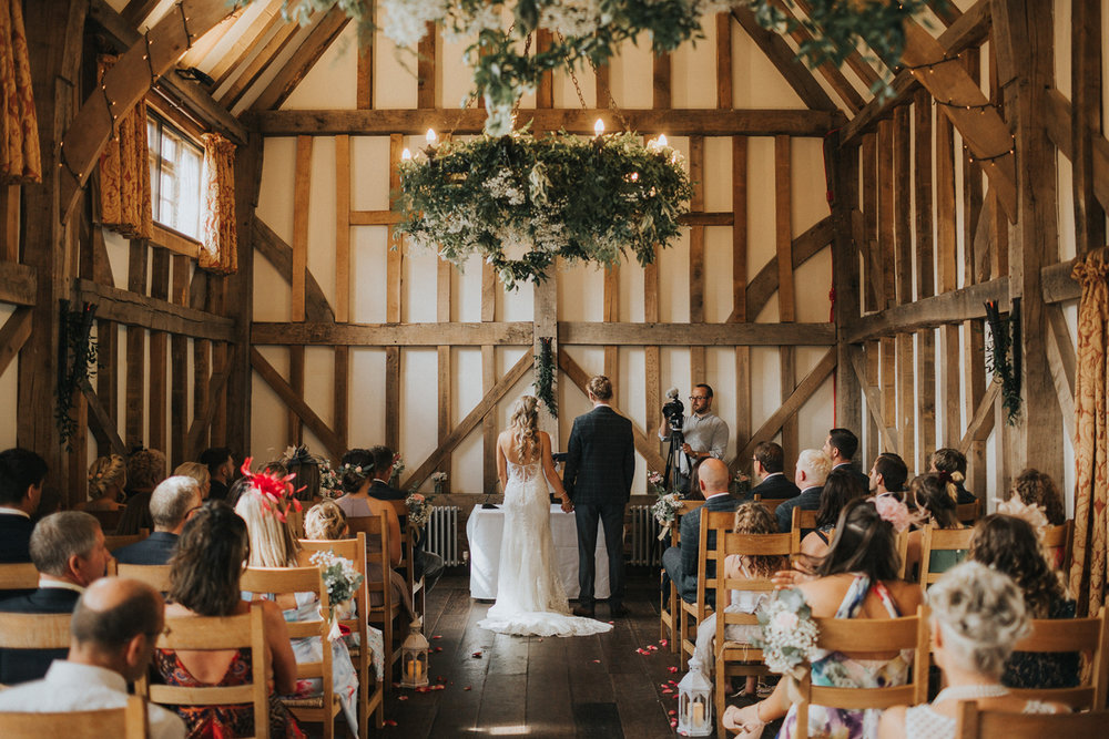 Gate Street Barn Ceremony