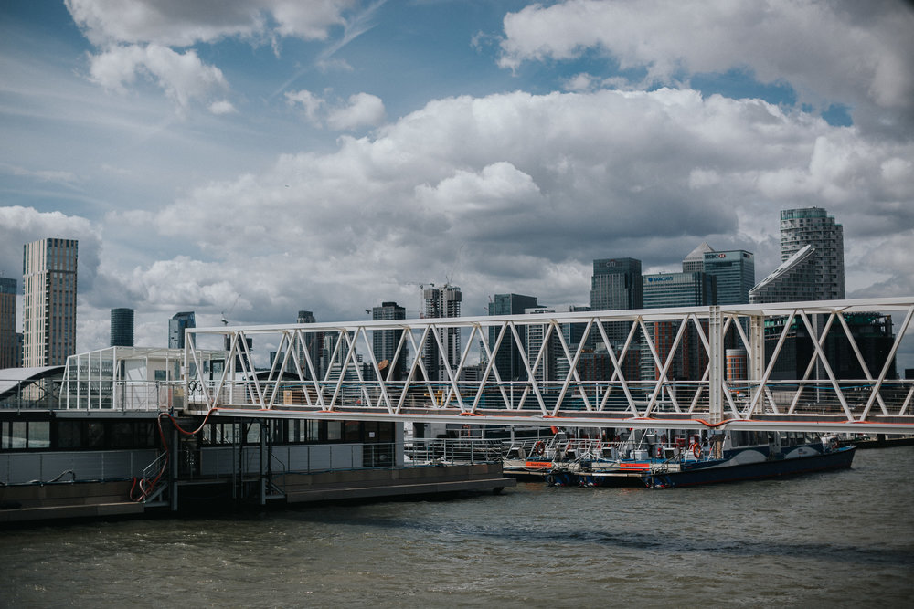 Trinity Buoy Wharf Wedding Venue View