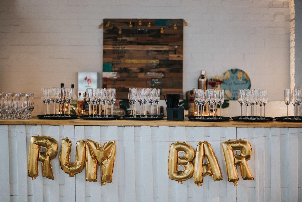 Trinity Buoy Wharf Caribbean Rum Bar