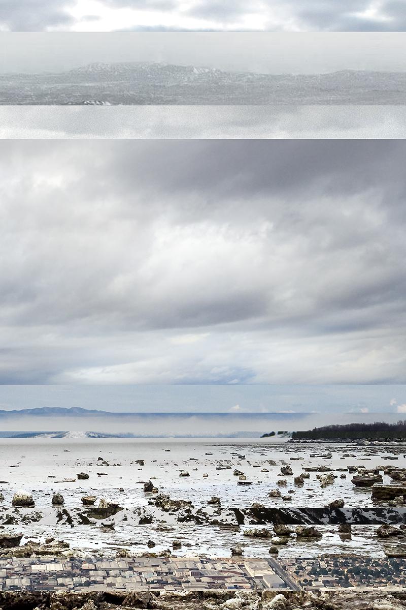 Cap Saint-Ignace    Série Visually similar images  2014-2015 épreuve numérique montée sous Plexiglas  76,2 x 50,8 cm. 1 de 1.