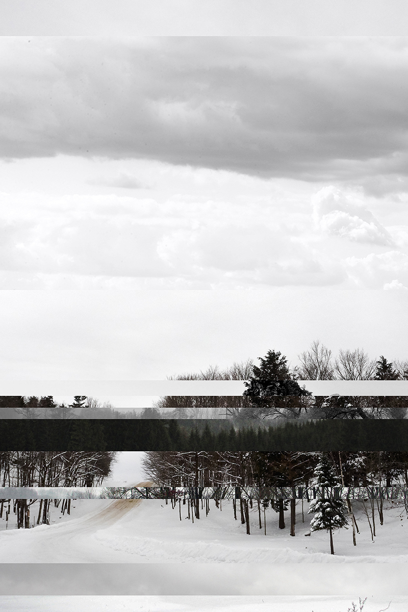 Montebello    Série Visually similar images  2014-2015 épreuve numérique montée sous Plexiglas 76,2 x 50,8 cm. 1 de 1.