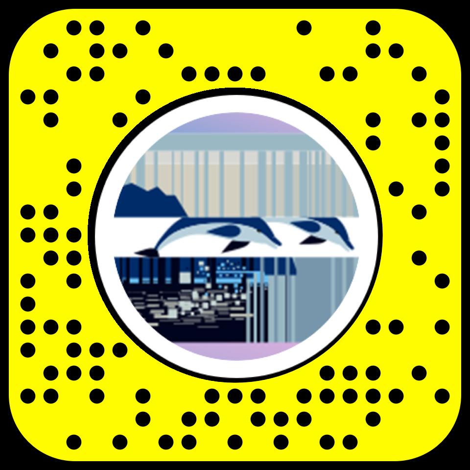 Snapcode - Pour accéder à mon oeuvre en réalité augmentée. vous devez avoir l'application Snapchat à jour et scanné mon code à gauche.