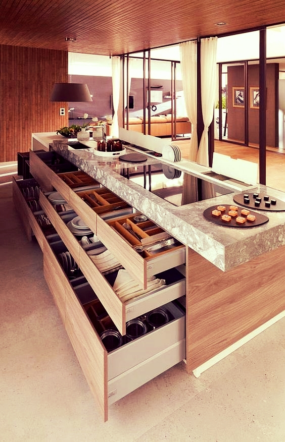 Family Kitchen with clever storage