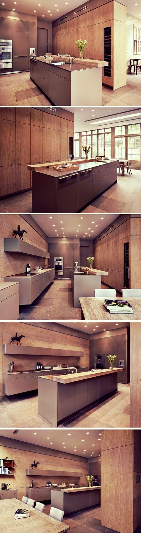 Modern Kitchen with Kitchen Island
