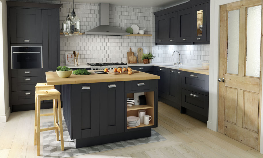 Milbourne Charcoal - Kitchen Perfection