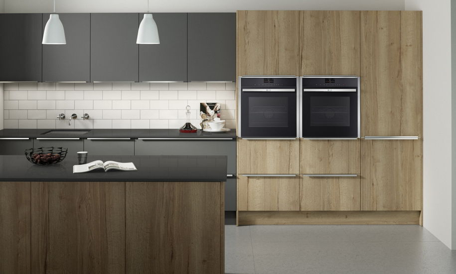 Feature Reclaimed Oak - Kitchen Perfection