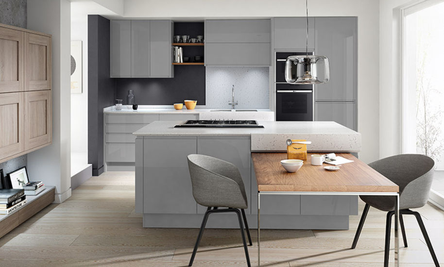 Remo Silver Grey - Kitchen Perfection