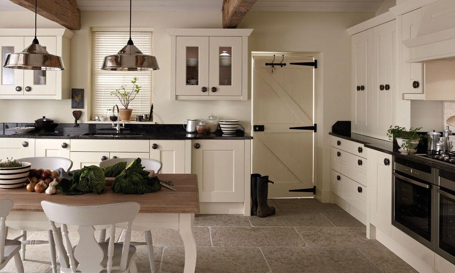 Country Kitchen - Langham Alabaster - Kitchen Perfection