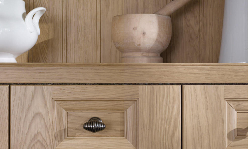 Beautiful Oak Doors Kitchen