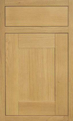 Milton Oak Door details