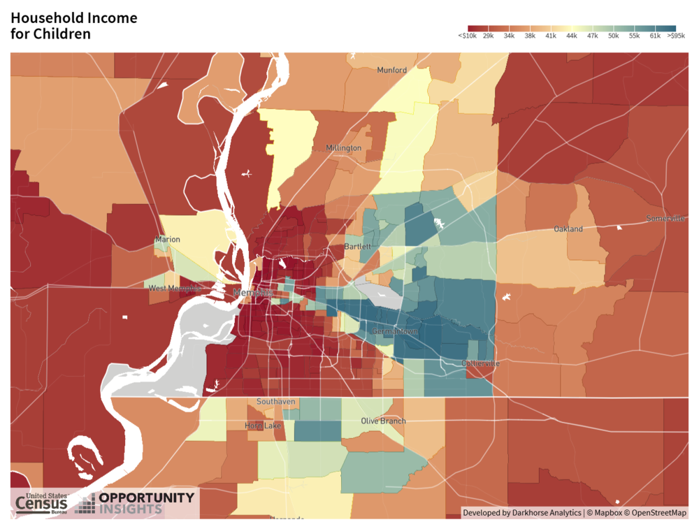 Map 2. Household Income