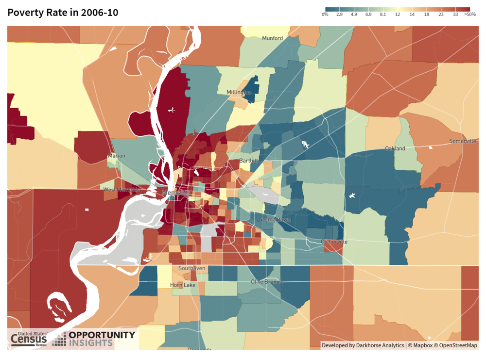 Map 4. Poverty Rates