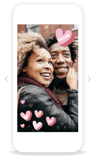 Romantic Geofilter Templates - Coming soon