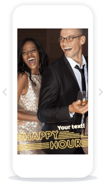 Restaurants and Bars Geofilter Templates - Coming soon