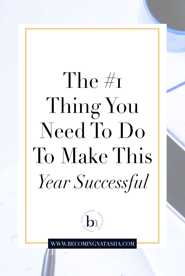 1 Thing You Need To Do This Year
