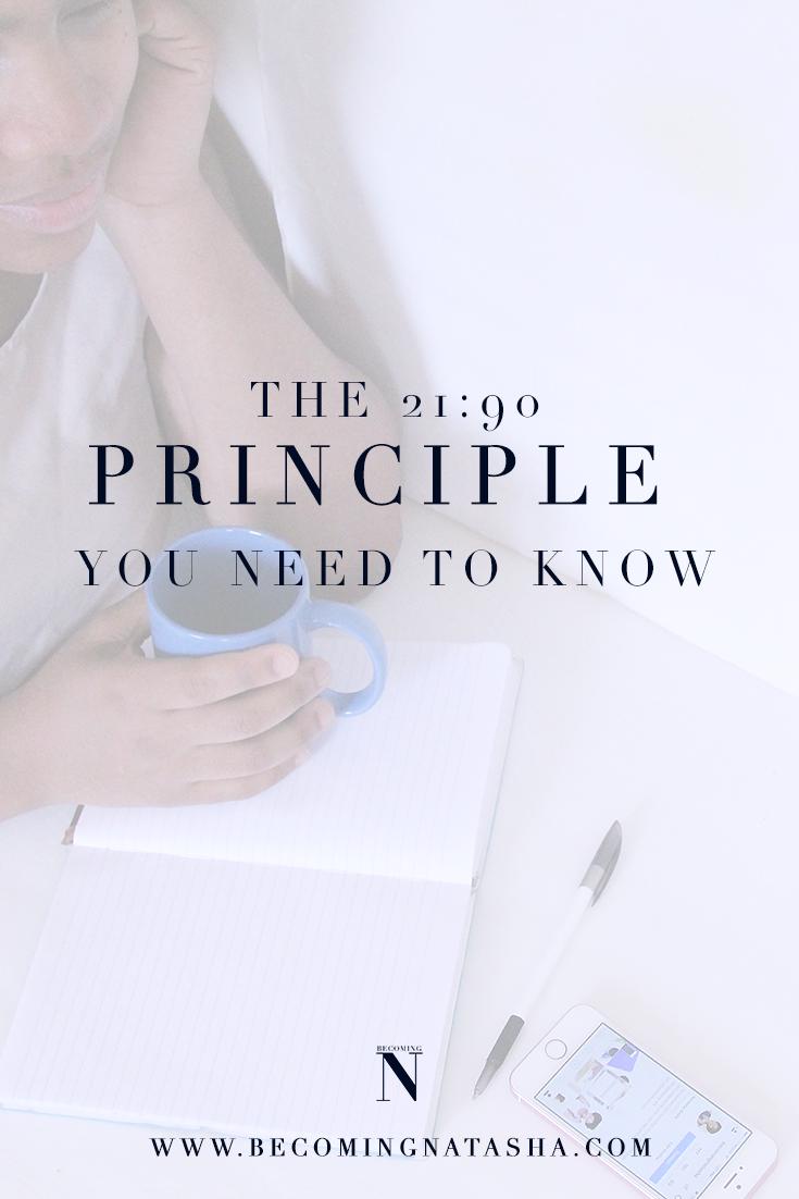 Twenty-One Ninety Principle To Know