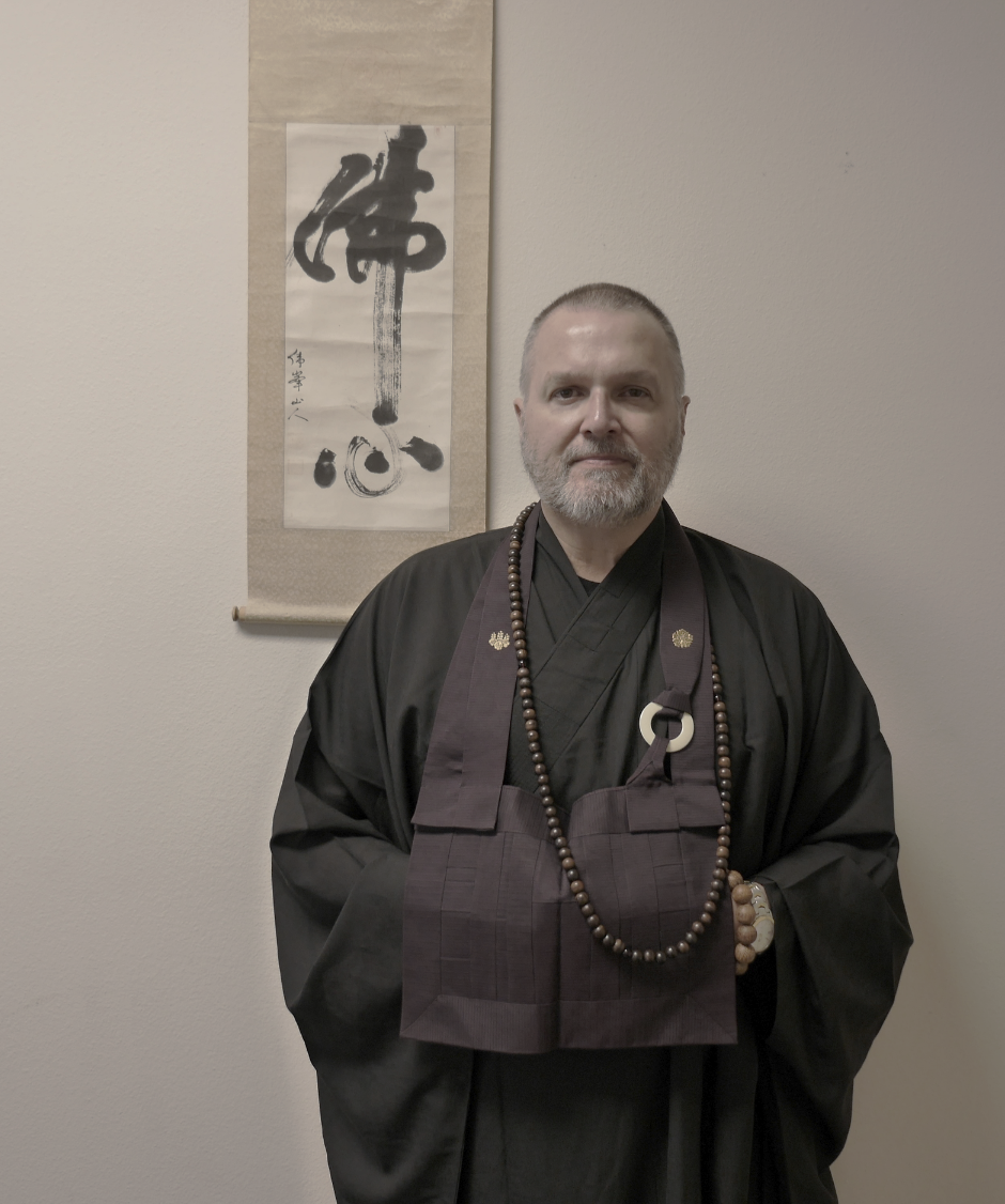Reverend Daito Thompson- Osho, director Sarasota Zen Center Buddhist Temple