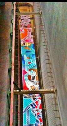 Julia Vogl's Berlin mural