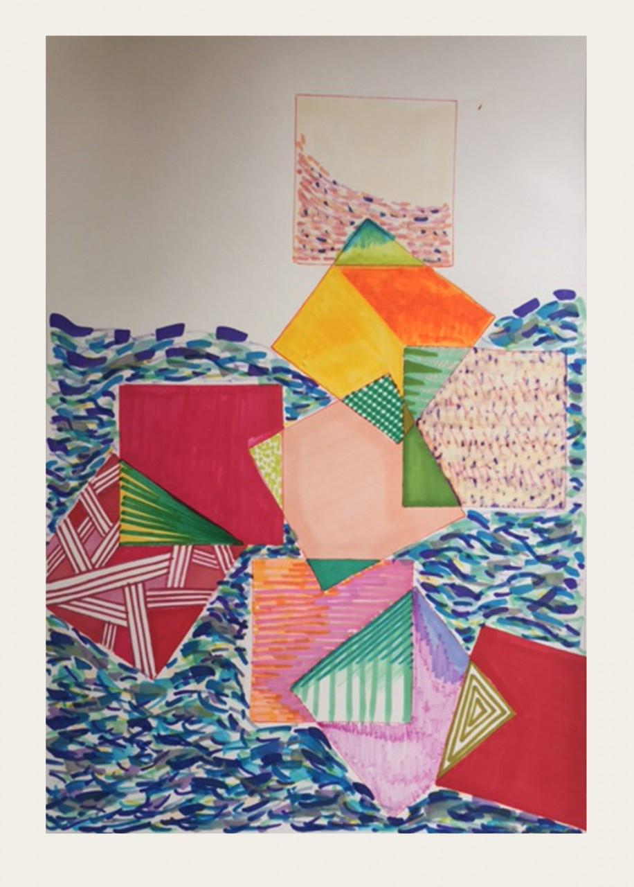 Art:  Wet Hot Seaside Summer - Julia Vogl