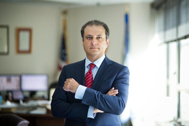 New York prosecutor Preet Bharara