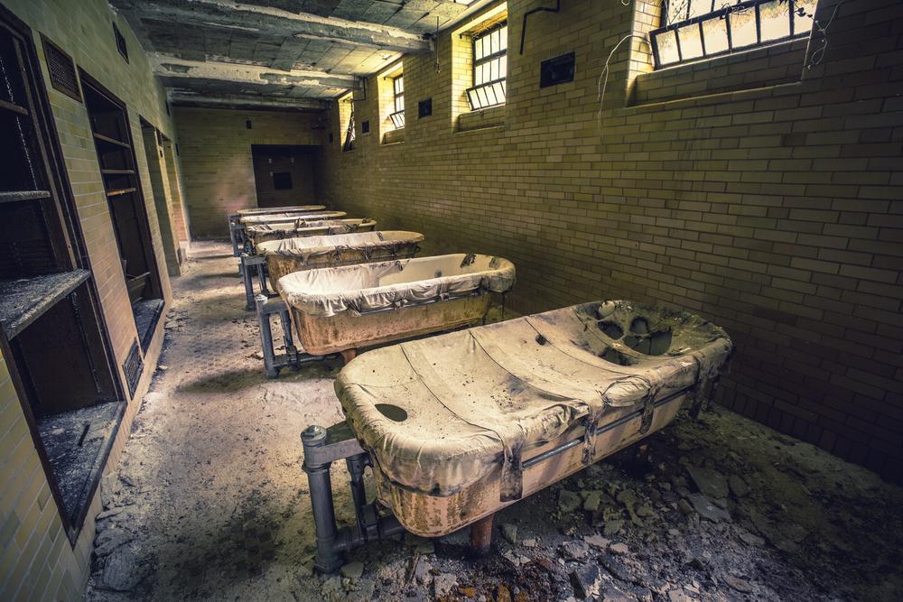 abandoned asylums the book by matt van der velde