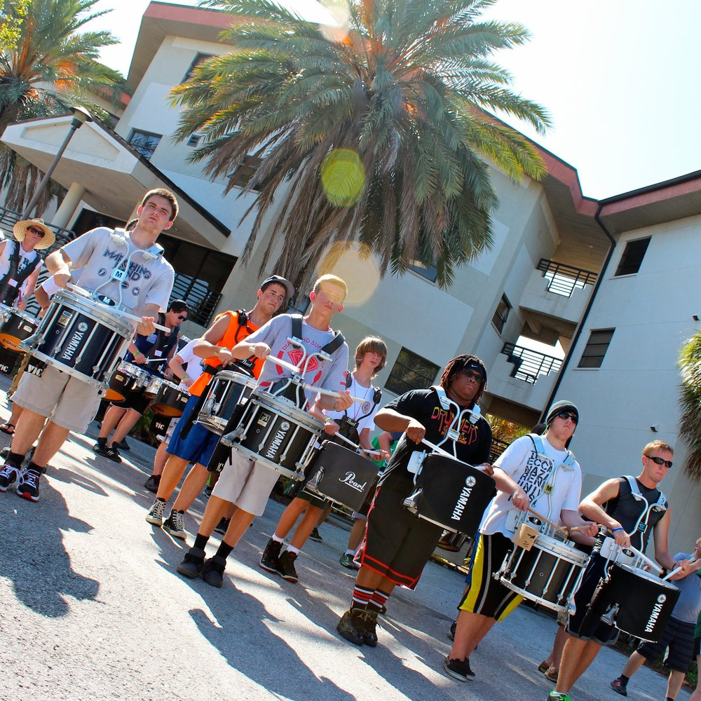 MARCHING PERCUSSION CLINIC - JUNE 28-30, 2018                     Sebastian River Middle School, Sebastian, FL
