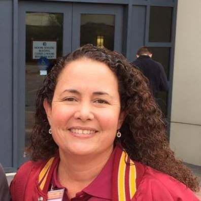 THERESA VASQUEZ,  MELBOURNE HIGH SCHOOL GUARD DIRECTOR  FORMER COLOR GUARD CAPTAIN AND VISUAL COORDINATOR FOR THE FSU MARCHING CHIEFS