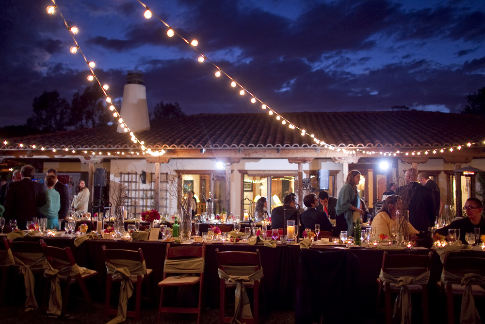 Outdoor Cafe Lighting