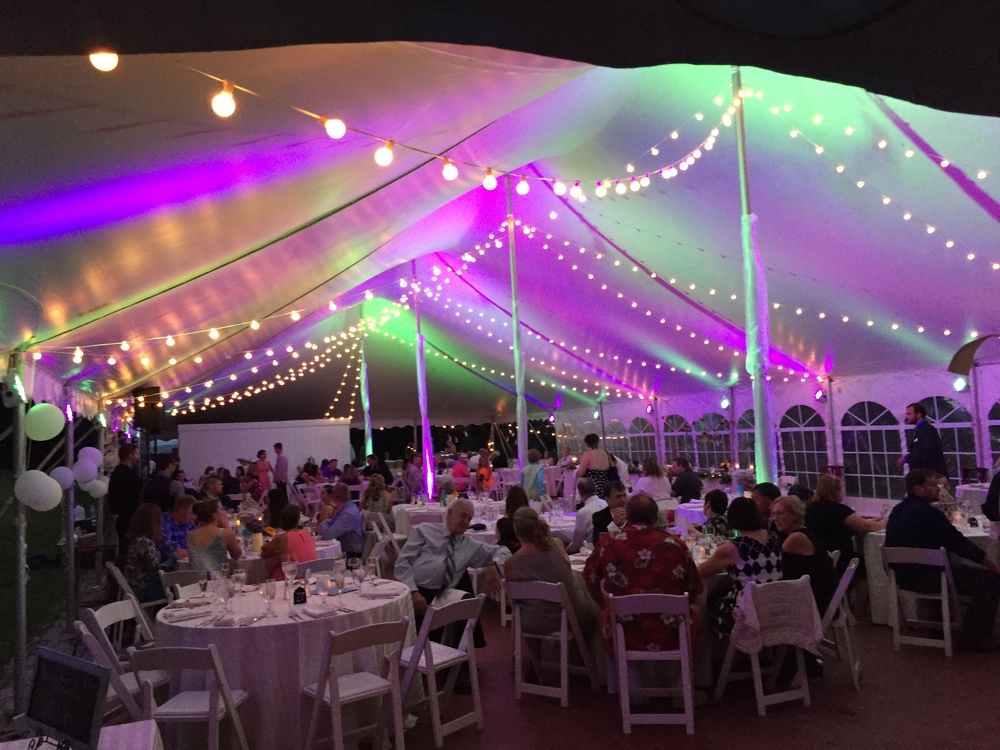 Tent Lighting & Hershey PA Event Lighting u0026 Design u2014 Klock Entertainment