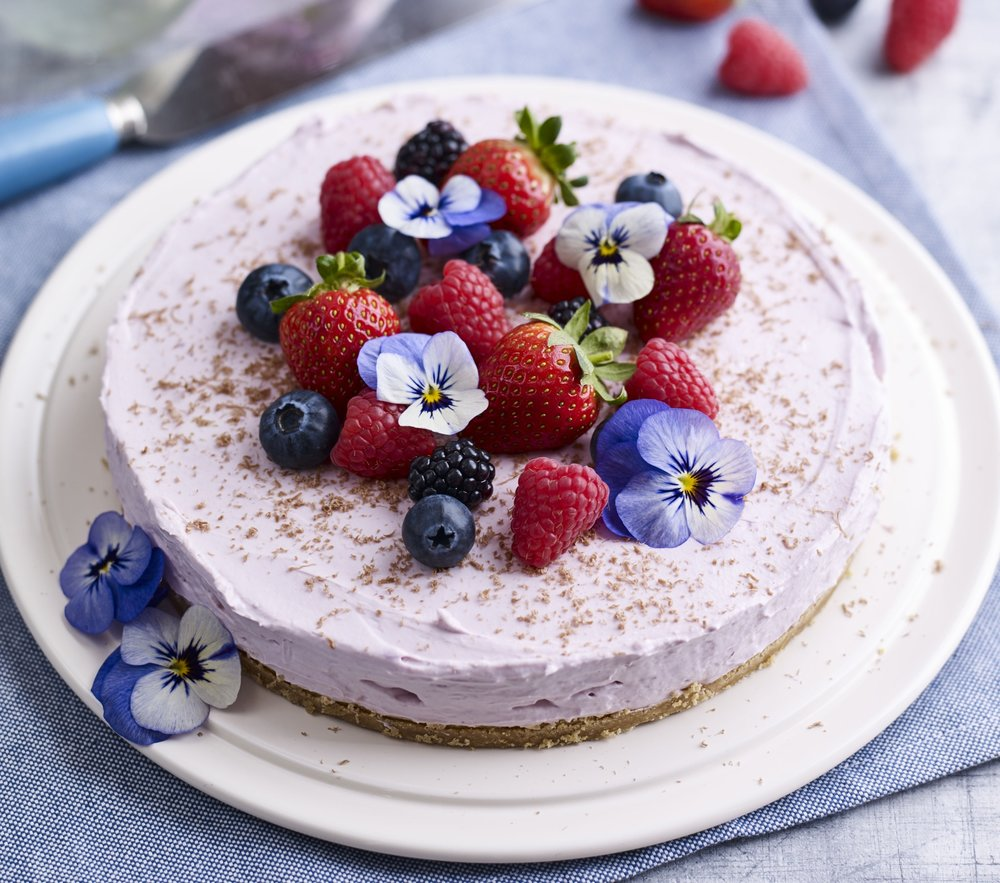 BerryWorld Cheesecake with flowers.jpg