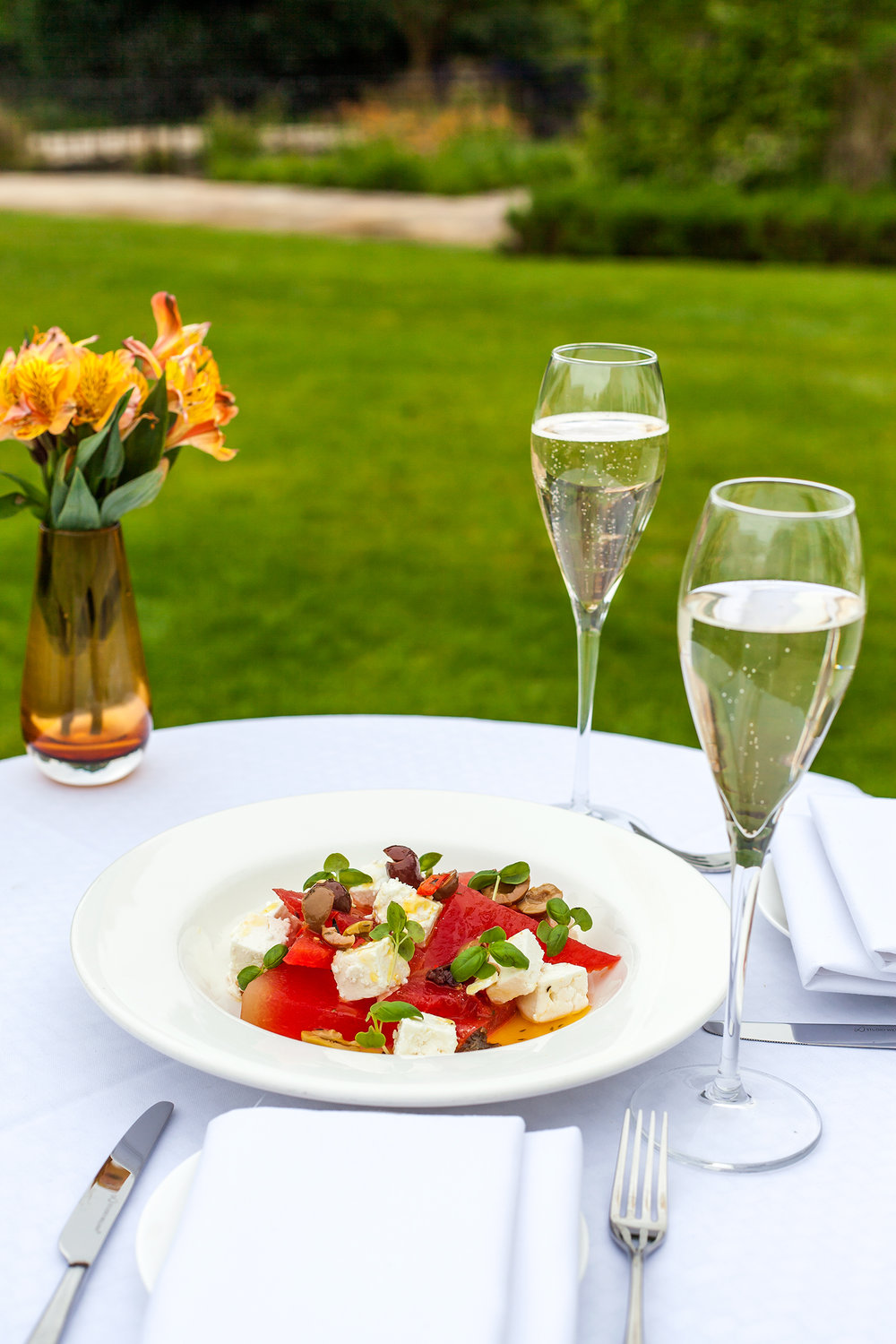 Watermelon Salad at Sopwell House  by Executive Head Chef Gopi Chandran.jpg