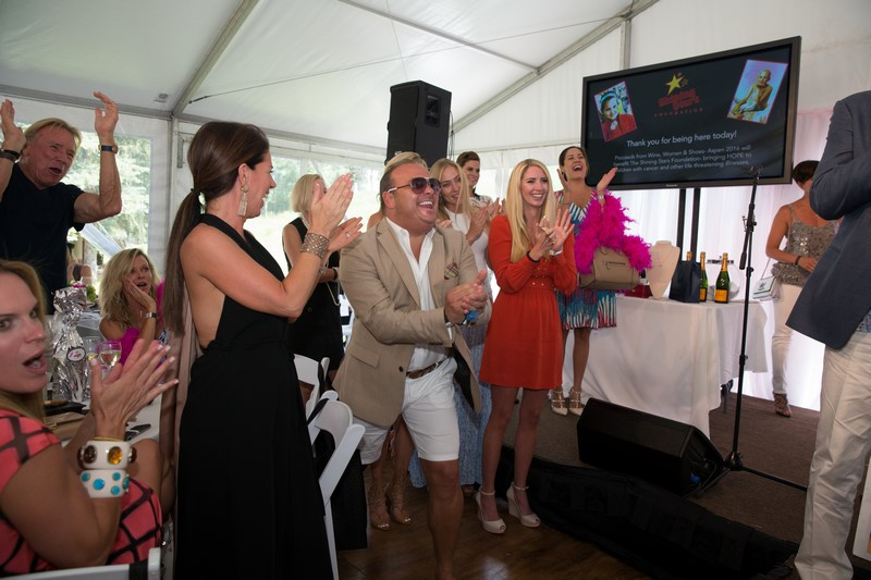 """Major Sponsor for SHINNING STARS FOUNDATION Event... """"WINE, WOMEN AND SHOES 2016"""""""