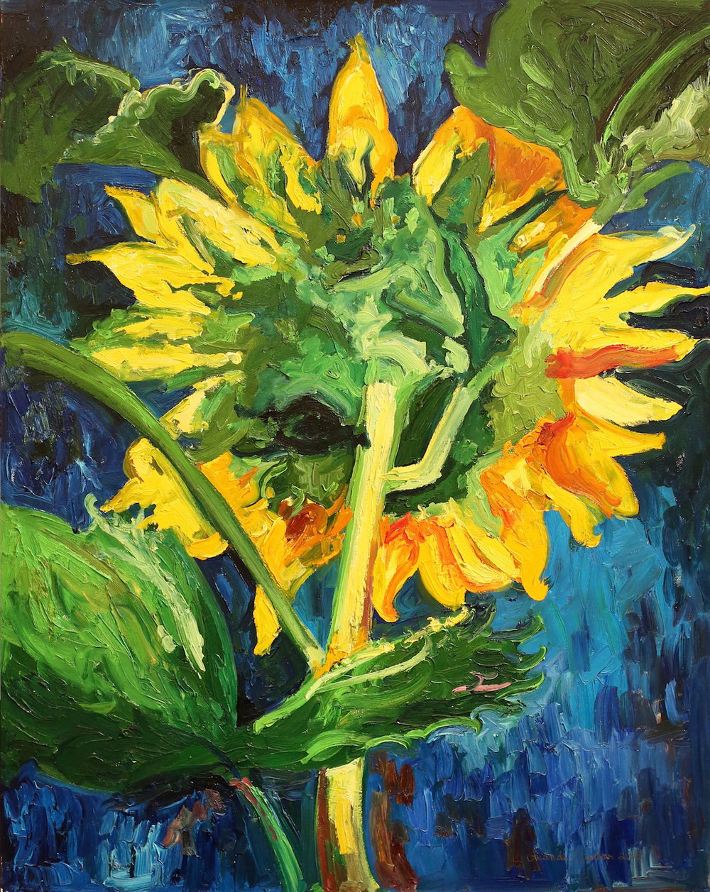 """Sunflower Retreat"" 36x48 web.jpg"