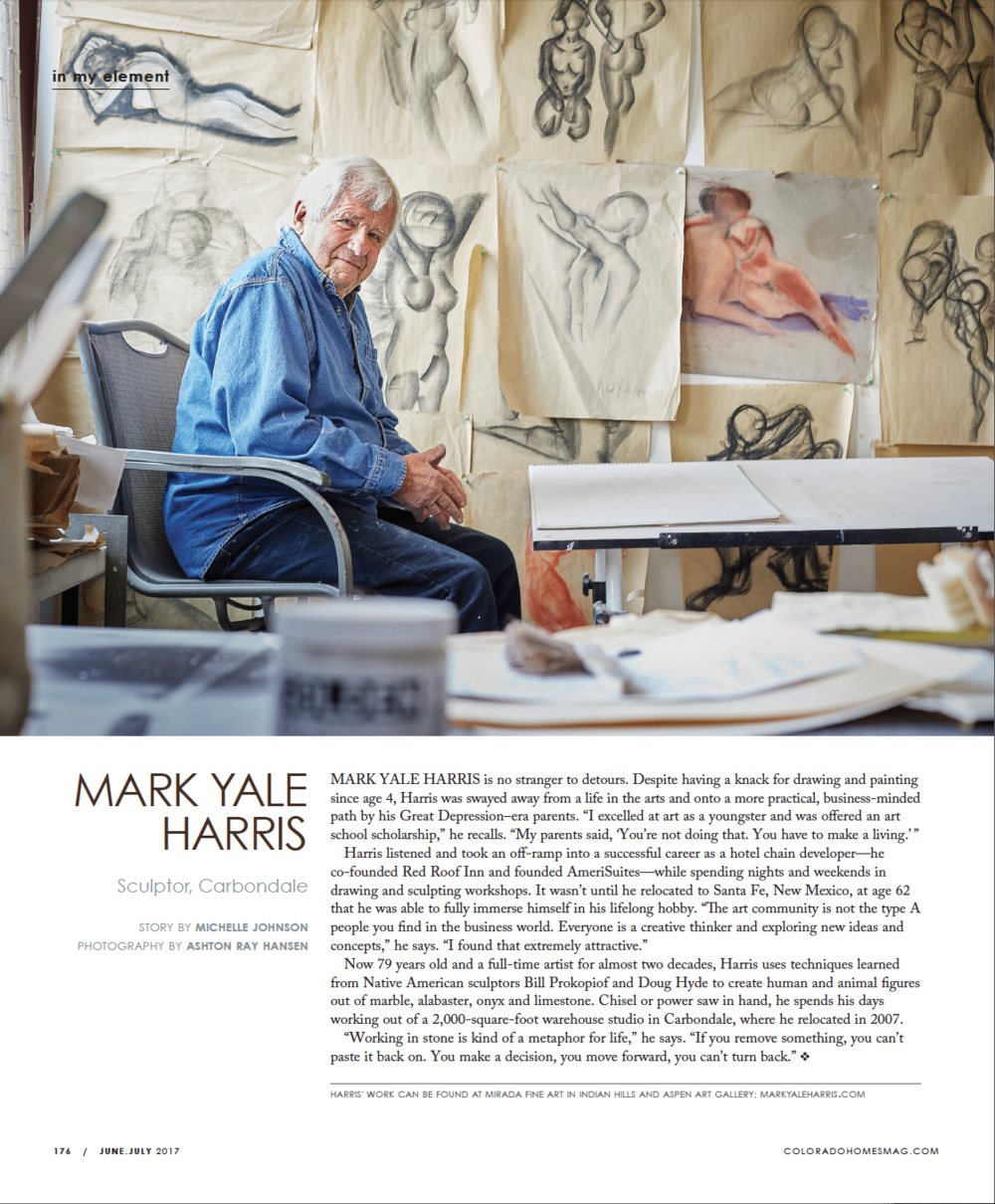 Mark yale harris Aspen Art Gallery