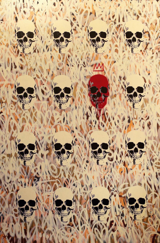 Art is Dead I 78 x 60