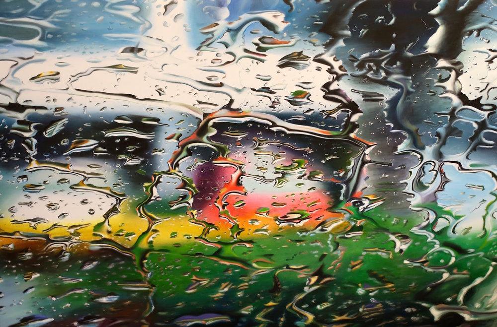 Wet, 72x48