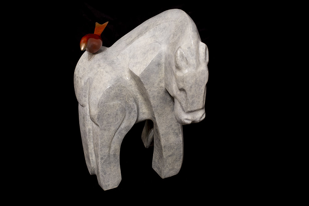 'She Rides a White Horse'
