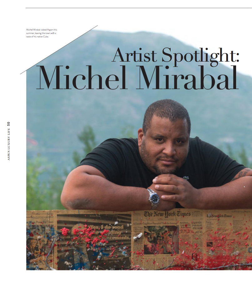aspen art gallery michel mirabal