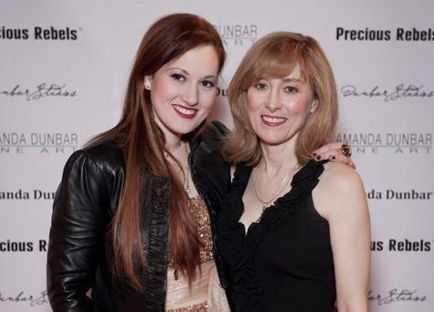 Judith and Amanda Dunbar