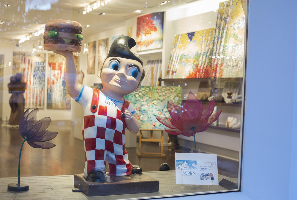 Big Boy Aspen Art Gallery