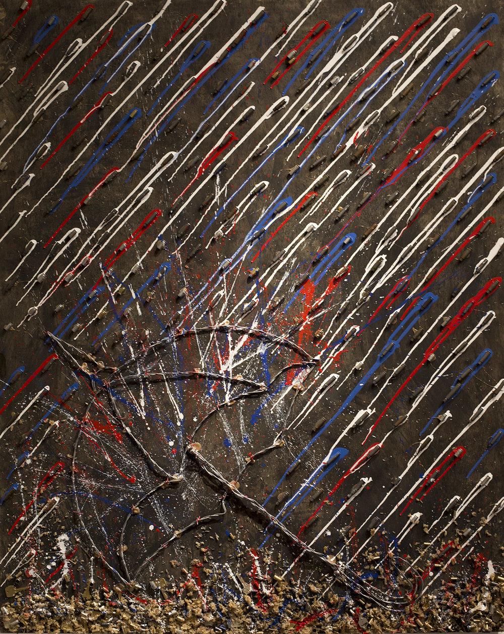 'Umbrella' 60x48
