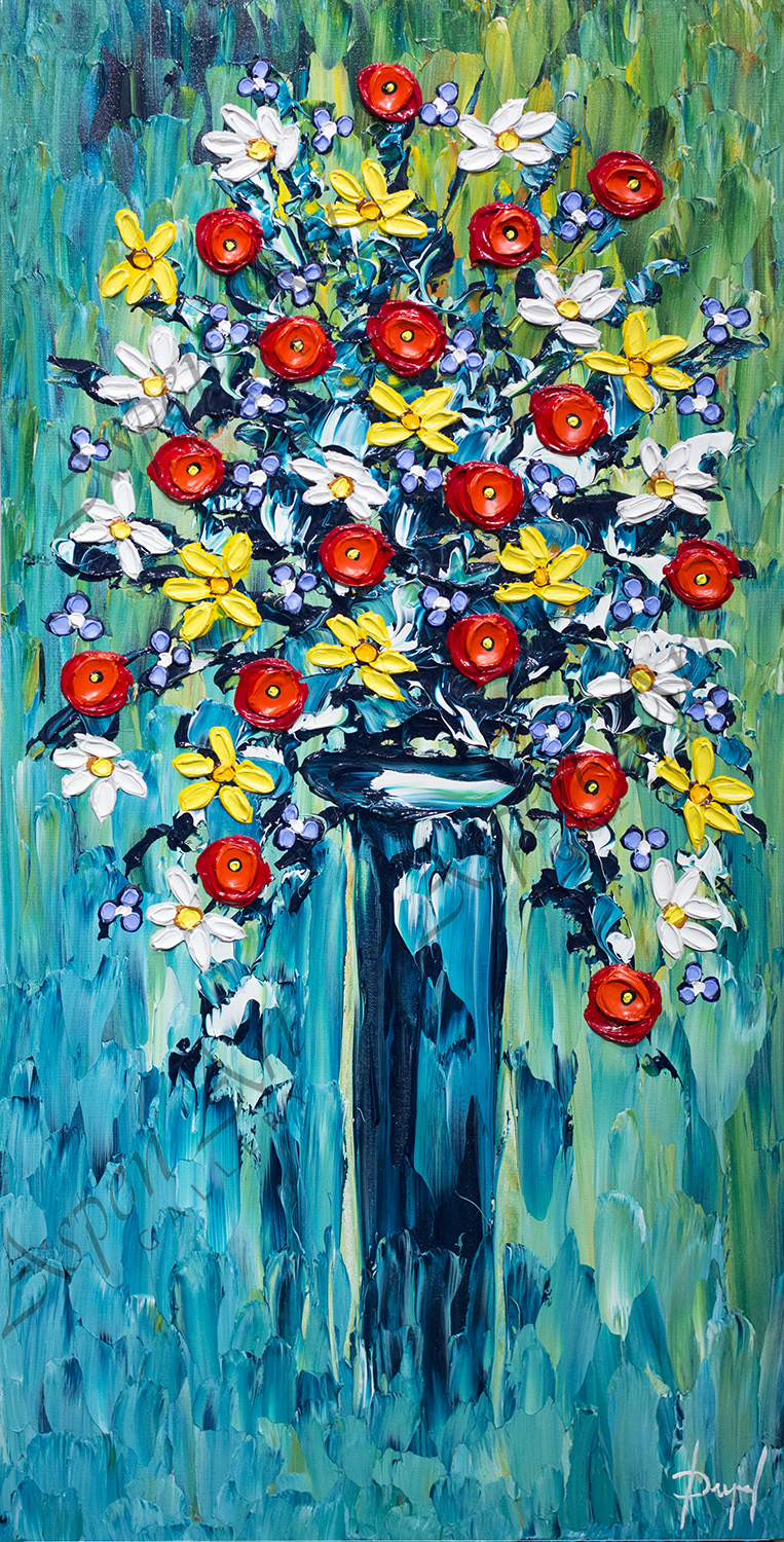 Bouquet of Colorful Beauty 40x20