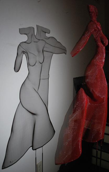 'Tango' - Work created by Carol Cooper
