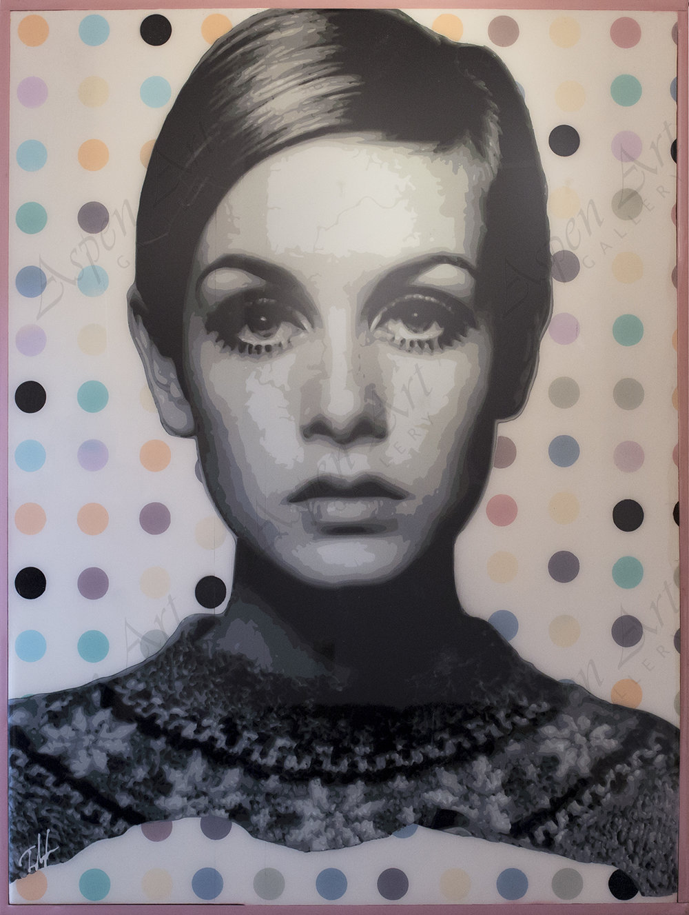 Twiggy Dots 48x36