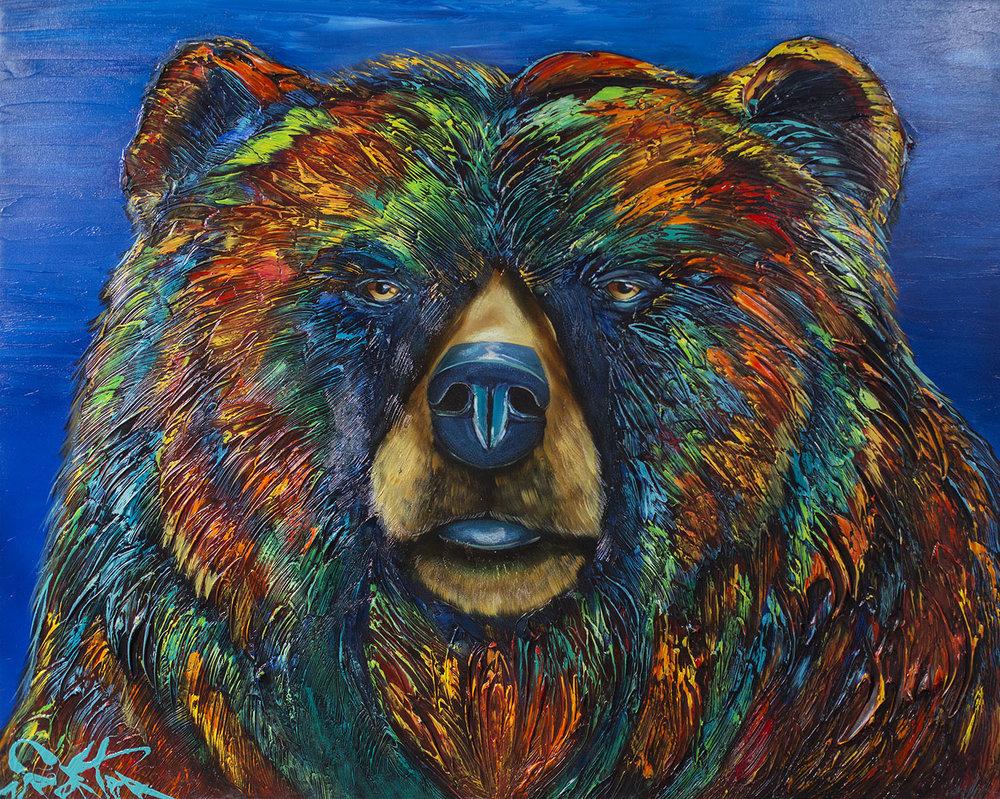 Brown Bear 48x60