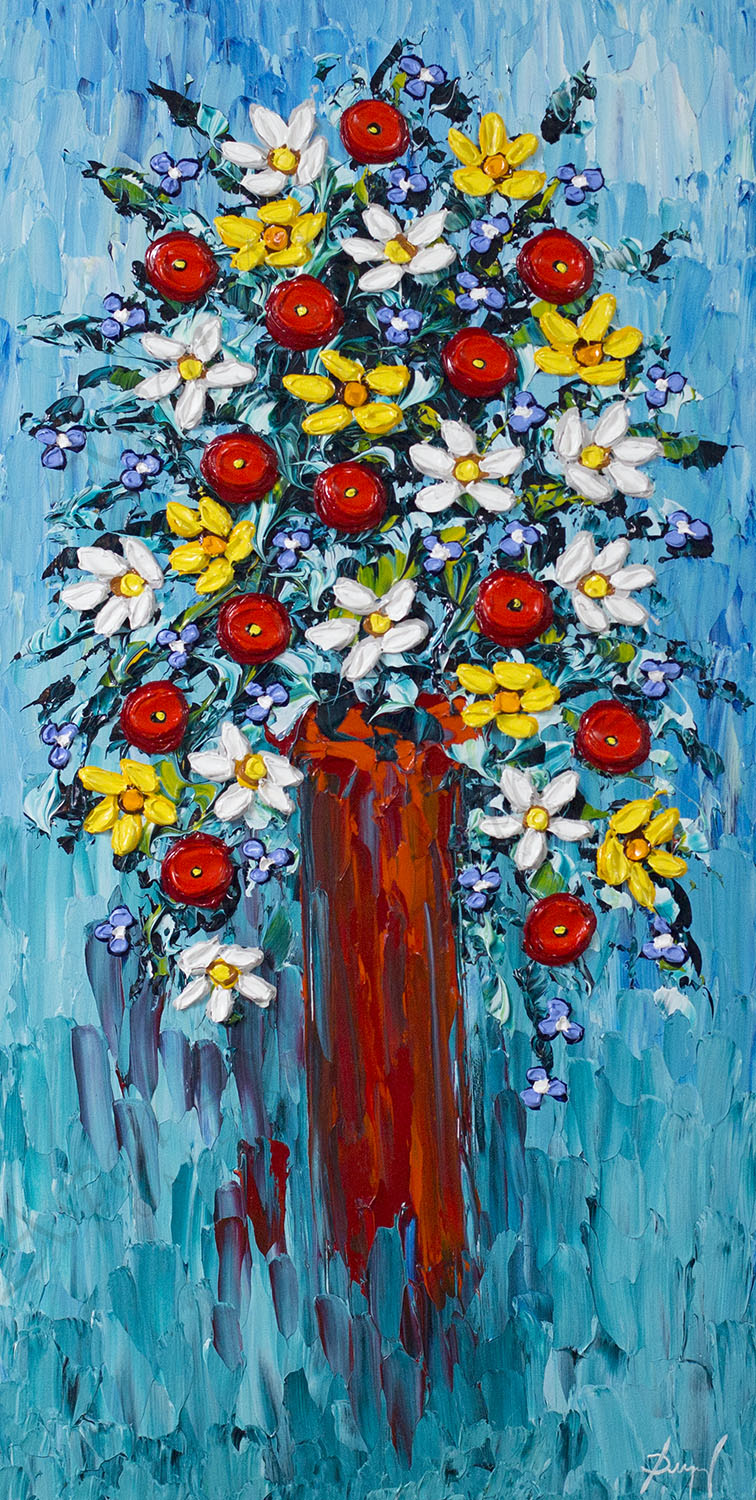 Colorful Arrangement of Beauty 40x20