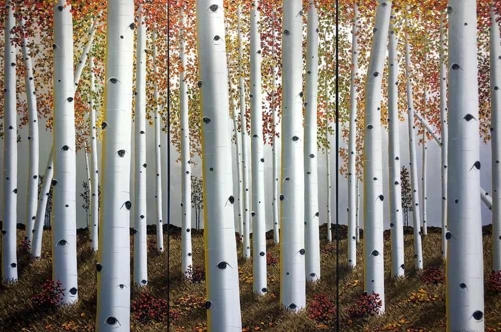 Aspen Woods 3 60x30 Panels